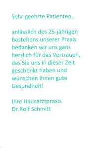 25 Jahre Praxis Text-212x300 in 25 jähriges Praxisjubiläum